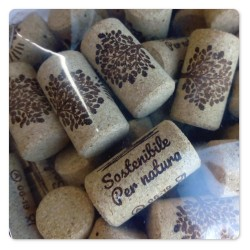 100 CORK PLUG FOR BOTTLING
