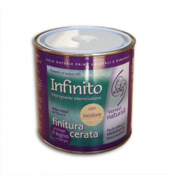 Infinity-waxed finish for Interior and exterior. 0.75 lt