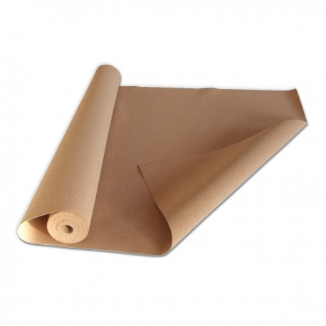 Ultrathin compressed cork thickness mm.0.5 and mm.1  in ROLL of 10 sqm
