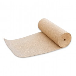 COMPRESSED ROLL CORK  Thickness 2 -3 mm  - height 50cm - lengh 8mt