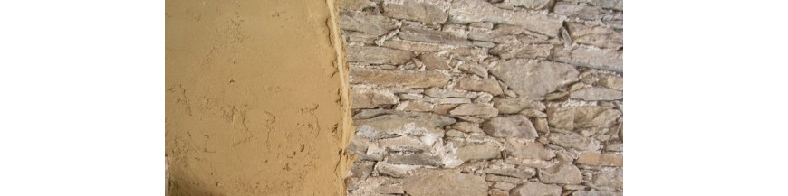 Clay plaster and finishing